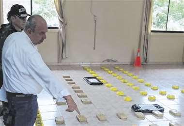 El ministro Arturo Murillo estuvo en la presentación del caso