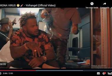 Yofrangel superó los tres millones de visitas en YouTube con su canción