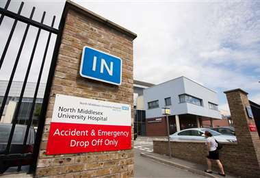 Hospital North Middlesex (Foto: The Guardian)