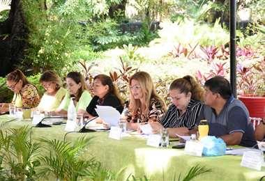 La sesión del Concejo se inició cerca de las 23:00 de este martes. Foto: redes sociales
