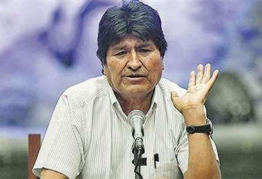 La comisión viajará a Argentina para entrevistar a Evo Morales