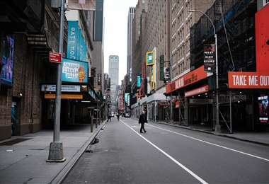 Nueva York desolada (AFP)