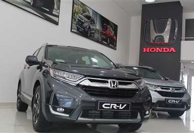 La vagineta Honda CR-V tiene un motor de 1.500 cc turbo
