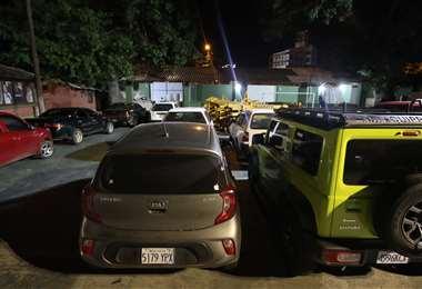 La Policía retuvo a los conductores y sus vehículos en Tránsito
