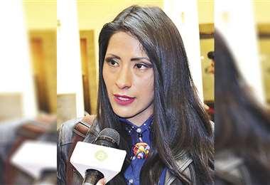 Alanoca fue ministra de Culturas