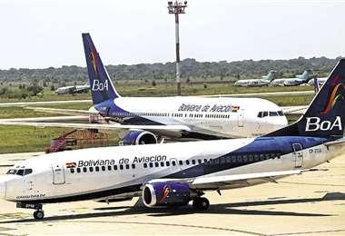 Según ejecutivos de la estatal, en el seguro aeronáutico y servicio de catering lograron ahorros importantes. Foto: Jorge Gutiérrez