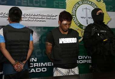 Ricardo Menacho fue presentado en la Felcc