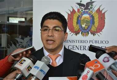 El Director Nacional de Régimen Disciplinario de la Fiscalía I Foto: Ministerio Público.