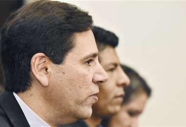 El presidente del TSE, Salvador Romero, dijo que se aplican las restricciones por el coronavirus. Foto: APG Noticias