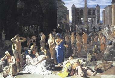 La Peste de Atenas fue una epidemia devastadora que afectó principalmente a la ciudad-estado de Atenas en el año 430 a. C (obra de Michiel Sweerts, c. 1652-1654