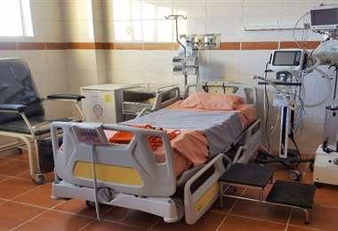 Unidad de terapia intensiva en El Alto I Foto: archivo.