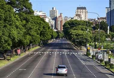 Argentina vuelve a soportar un nuevo deceso. Foto: AFP