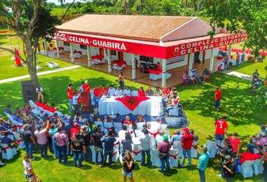 Así lucía el Complejo Celina – Guabirá el día de su inauguración. Foto: Archivo/Club Guabirá