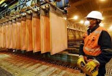 El cobre en Chile se ha visto afectado por el coronavirus. Foto: Internet