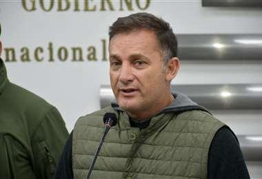 Fernando López, ministro de Defensa. Foto: APG