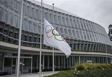 La sede del Comité Olímpico Internacional en Lausana. Foto: AFP