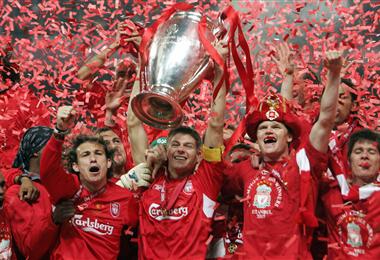Liverpool, último campeón de la Champions
