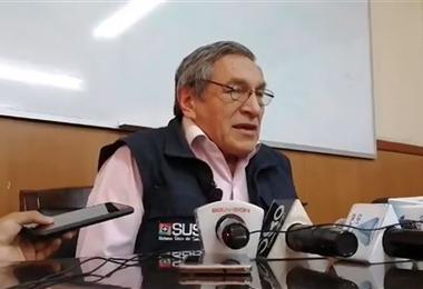 Arturo Quiñones, director del Sedes de Cochabamba. Foto. Internet
