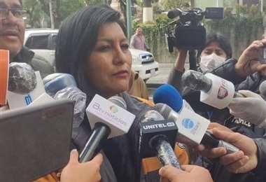 La alcaldesa de El Alto, se reunió ayer con la presidente, Jeanine Añez