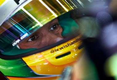 Lewis Hamilton, piloto de la Fórmula 1. Foto: Internet