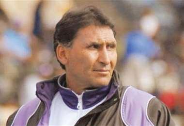 Marcos Ferrufino, exDT de Real Potosí. Foto: Internet