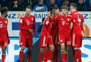 Los jugadores del Bayern de Múnich cobrarán menos. Futbolistas de otros clubes van por el mismo camino. Foto: Internet
