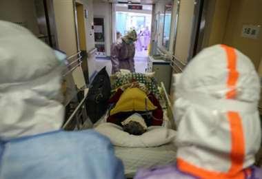 Aumentan los fallecidos en España. Foto: AFP