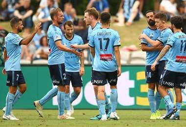 Sydney FC es el líder del campeonato australiano y acaricia el título de la temporada. Foto: Internet