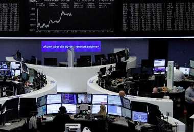Frankfurt lideró la recuperación de los mercados en europa