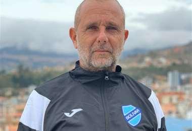 Diego Ferella es el preparador físico de Bolívar y está satisfecho con la respuesta de los jugadores. Foto: Prensa Bolívar