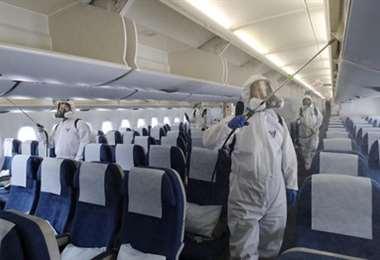La crisis afecta en este momento al 98% del tráfico aéreo de pasajeros en todo el mundo