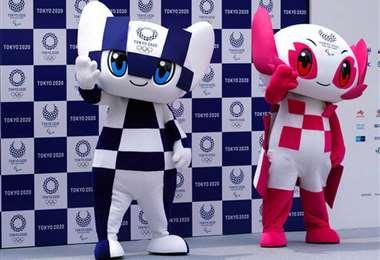 Estas son las mascotas de los Juegos Olímpicos de Tokio. Foto: Internet