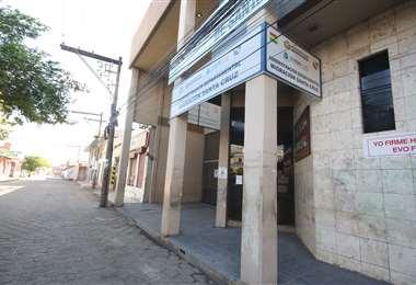 Oficina de Migración en Santa Cruz