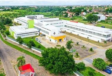 Este es el hospital donde se atenderán pacientes con Covid-19