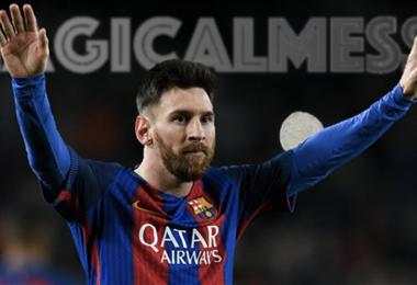 Messi también juega contra el Covid-19