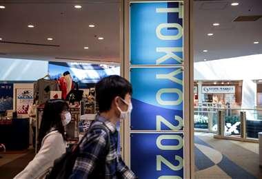 Hay decepción en Japón por la postergación de los Juegos. Foto: AFP