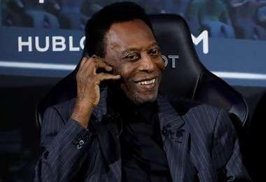 Pelé, para mucha gente es el mejor jugador de todos los tiempos. Foto: Internet