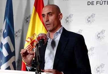 Luis Rubiales, actual presidente de la Real Federación Española de Fútbol. Foto: Internet