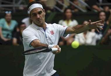 Roger Federer, de 38 años, es el actual número 4 del tenis mundial. Foto: Intenet