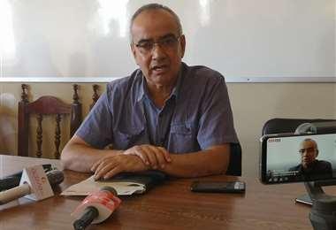 Rubén Ardaya, secretario de Gestión Institucional de la Gobernación