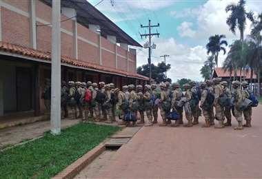 Militares llegan a San Javier para hacer cumplir la cuarentena