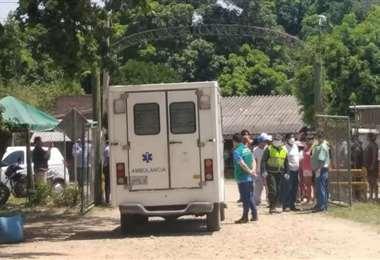 Este es el hospital Ichilo en San Carlos. Tuvo la atención nacional al albergar a la primera paciente contagiada por coronavirus