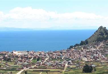 Copacabana, una comunidad pequeña en el departamento de La Paz
