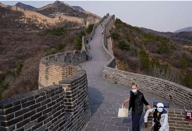 La Muralla China volvió a recibir turistas luego de dos meses cerrada