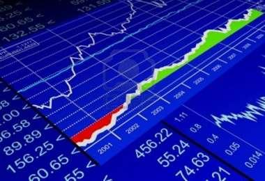 Las bolsas de valores registran una tendencia negativa