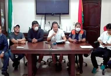 La resolución fue firmada por autoridades de Yacuiba