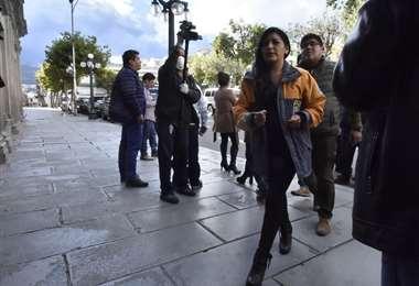 La autoridad municipal de El Alto I Foto: APG Noticias.
