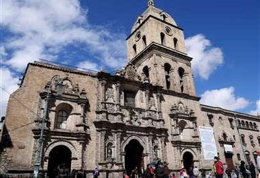 La iglesia de La Paz I Foto: archivo.