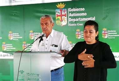 Óscar Urenda informó sobre nuevos casos de coronavirus en Santa Cruz