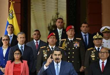 Maduro responde a la acusacion de Trump
